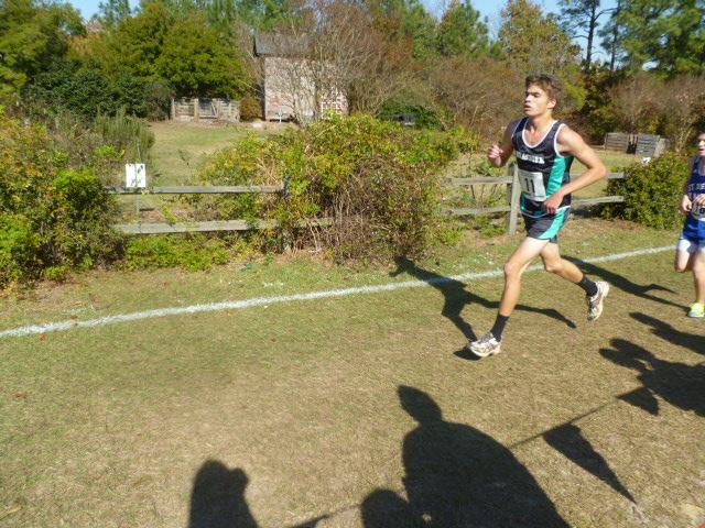 Senior pushes through to the finish