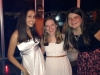 Sophomores Kylie Singh, Amanda Reeves, and Grace Lothridge at the Dance