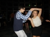 Junior Joseph Calamia Dancing with Sophomore Terin Sims