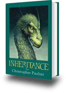 "Final ""Inheritance"" book comes out"