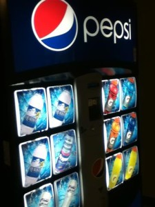 New Drink Machine Comes to Brashier Middle College