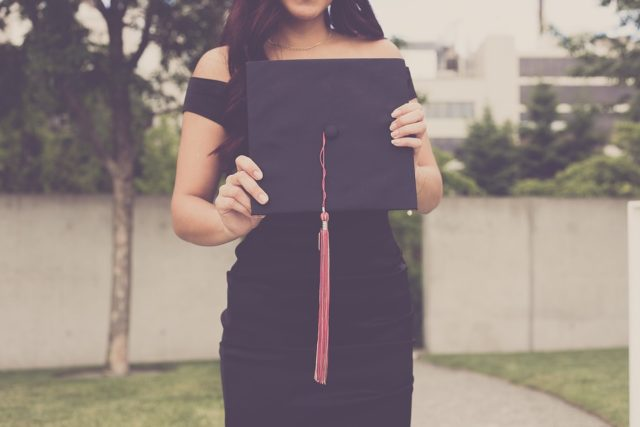 The cap, gown, and tassel supplied by Herff Jones are a necessity to walk and are expensive. (Photo courtesy of Pixabay)