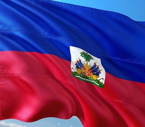 The Haitian Flag (Picture taken by Pixabay).