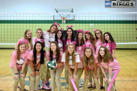 Dig Pink Week was a success! (Photo Courtesy of Eric Hammersmith)
