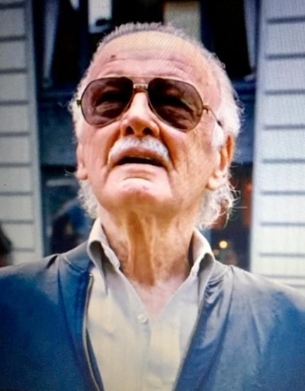 Stan Lee makes one of his many cameos in Spider-Man.  (Photo courtesy of Alaina Haylock)
