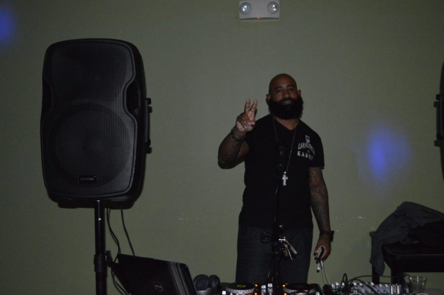 The dance would have been incomplete without a stellar DJ. DJ Bran did a great job with keeping a variety of music that everyone enjoyed (Photo courtesy of Mallory Smith).