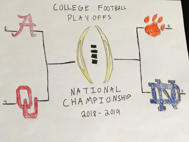 After the end of the college football playoffs, many people want changes to be made to the playoffs (Photo courtesy of Tyler Davidson).