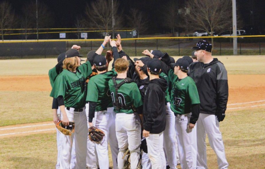 The baseball team has a bond through the love of the sport they play (Photo courtesy of Mallory Smith).
