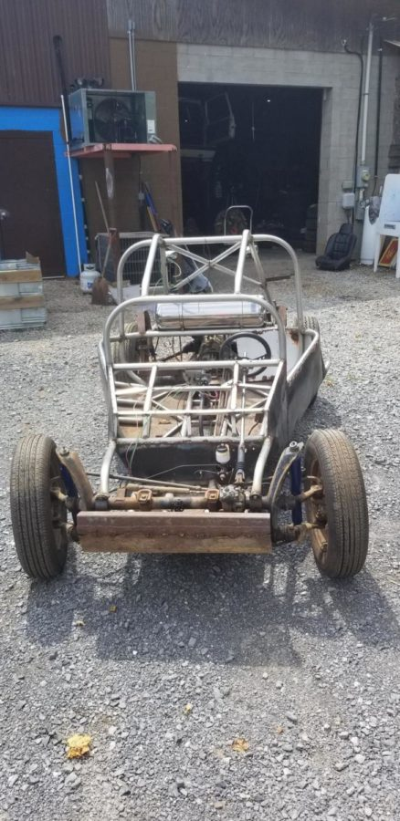 The incredible mechanical design and skill going into senior Neil Cassidy's project is the epitome of drive (Photo courtesy of Neil Cassidy).