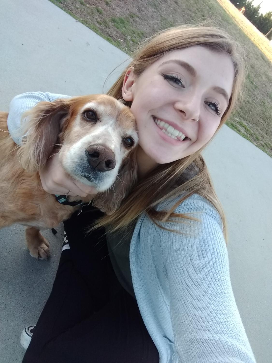 Student Lindsey Morin is an example of a student whose passion for helping others truly shows through her Senior Project (Photo courtesy of Lindsey Morin).