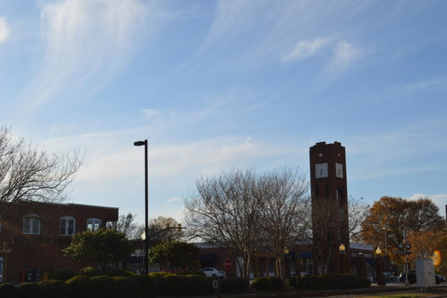 A lot of students at Brashier call Simpsonville, South Carolina their home. Many Simpsonville residents, specifically Brashier students, are proud of and love their hometown, creating an atmosphere of community. Even with the growth that the area has experienced, students still love and cherish many parts of Simpsonville. When students were asked about their favorite parts of this town, they all answered in a way that paid homage to their home (Photo courtesy of Mallory Smith).