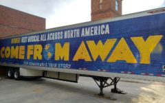 Come From Away, the winner of the Best Musical All Across North America, visited the Peace Center in downtown Greenville in April of 2019 (Photo courtesy of Grace Daniel).