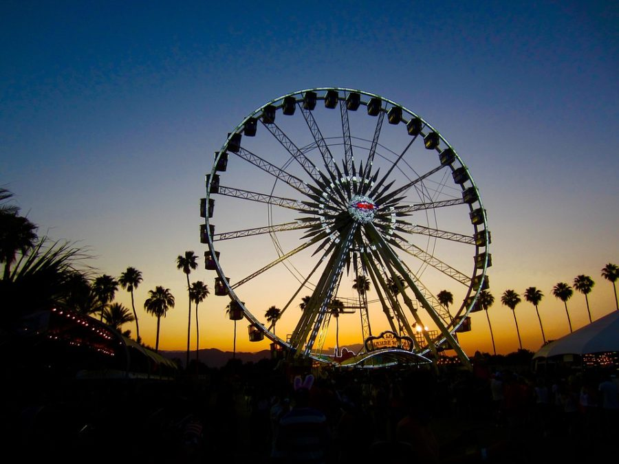 The+Coachella+venue+includes+the+ferris+wheel+called+Le+Grande+Wheel%2C+which+has+become+one+of+the+most+iconic+parts+of+the+festival+%28Photo+courtesy+of+Pixabay%2C+photo+credits+to+DomCarver%29.