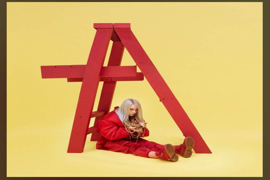 "Billie Eilish released a ""Don't smile at me"" two year anniversary photo album to thank fans for their persistence and endless support (Photo courtesy of Alia Abbas)."