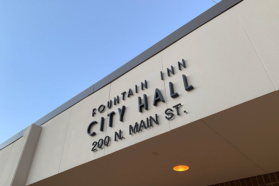 Almost anyone is able to come to city hall for meetings on big issues and events occurring in the city, to make the city a better place (Photo Courtesy of Emily Fleming).