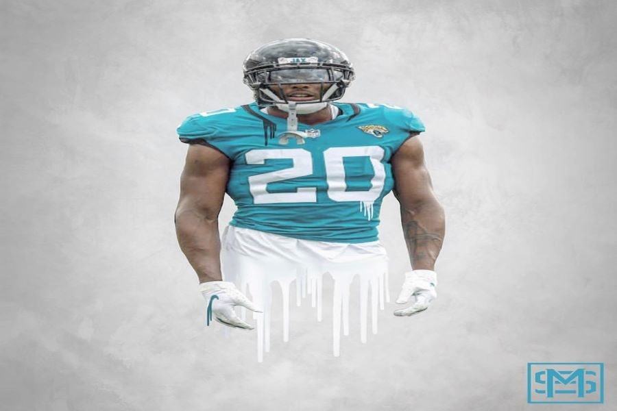 Jalen Ramsey is one of the many players who is holding out for a trade to another team despite his owners, Shahid Khan, unwillingness to do so(Photo courtesy of spidagrfx).