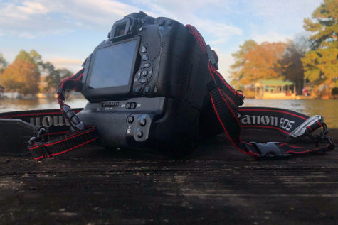 There are three major camera brands in a commercial battle to be titled the best camera in the industry  (Photo Courtesy of Savannah Garrison).