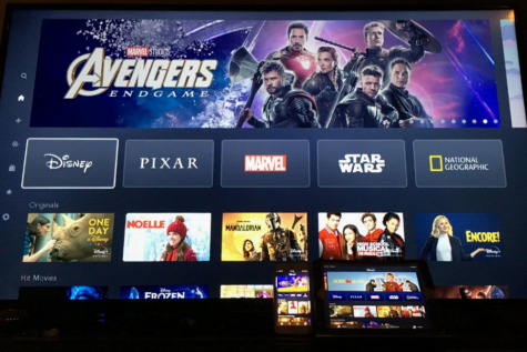 Disney Plus is immensely popular, mainly due to its wide library of shows and movies that pull from some of Disney's most popular franchises, such as Marvel, Star Wars, and Pixar (Photo courtesy and credits to Peyton Ludwig).