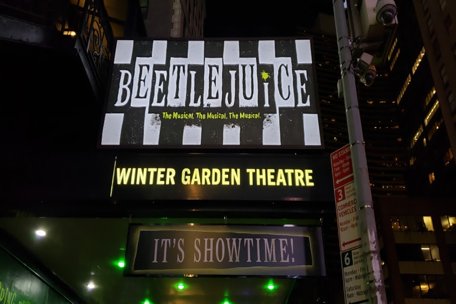Beetlejuice%2C+housed+at+the+Winter+Garden+Theatre+on+Broadway%2C+has+amassed+a+huge+fanbase+following+its+release+%28Photo+courtesy+of+Grace+Daniel%29.