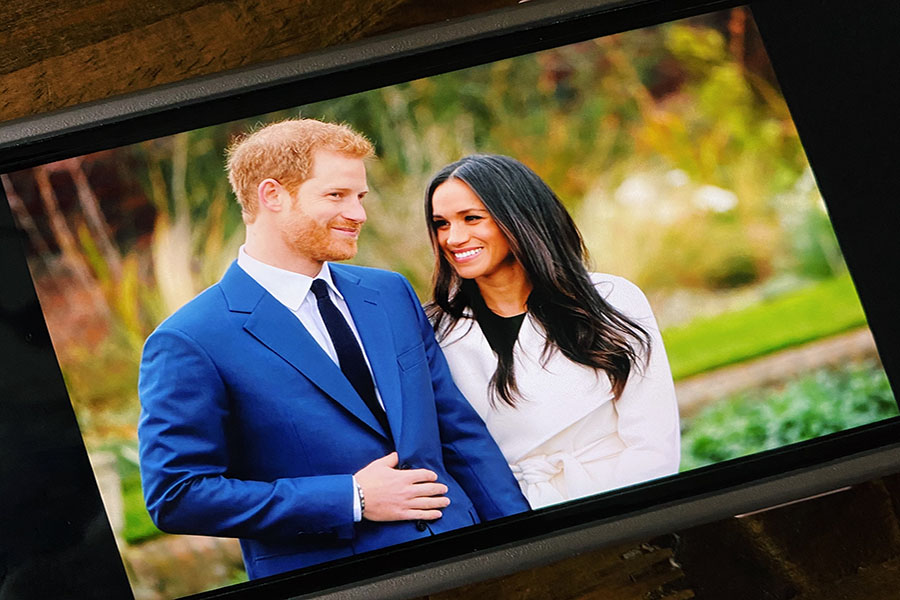 Prince+Harry+and+his+wife%2C+Meghan+Markle%2C+are+starting+to+pursue+a+calmer+lifestyle+away+from+Royal+life+%28Photo+courtesy+of+Clara+Cianfarano%29.