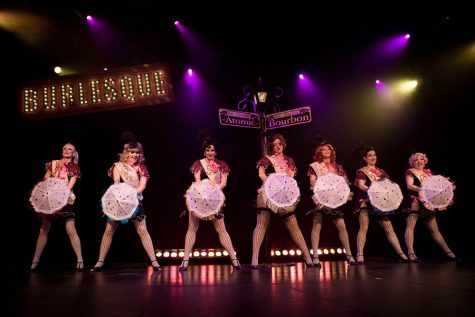 Burlesque is not just a movie, but a performance still popular in big cities (Photo courtesy of J. Von Stratton, photo credits to Jules Doyle).