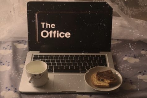 """The Office"" is a great show to binge-watch with some snacks (Photo courtesy of Instagram, photo credits to @afra.takes.you.to.places)."