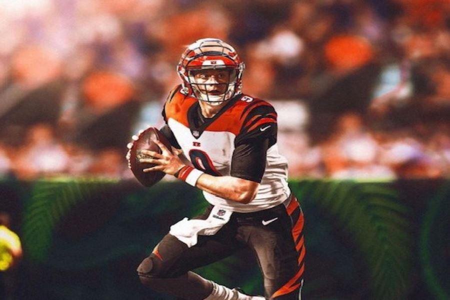 The Cincinnati Bengals selected their franchise signal caller with the number pick. Welcome to the Jungle, Joe Burrow (Photo courtesy of Derek Ho).