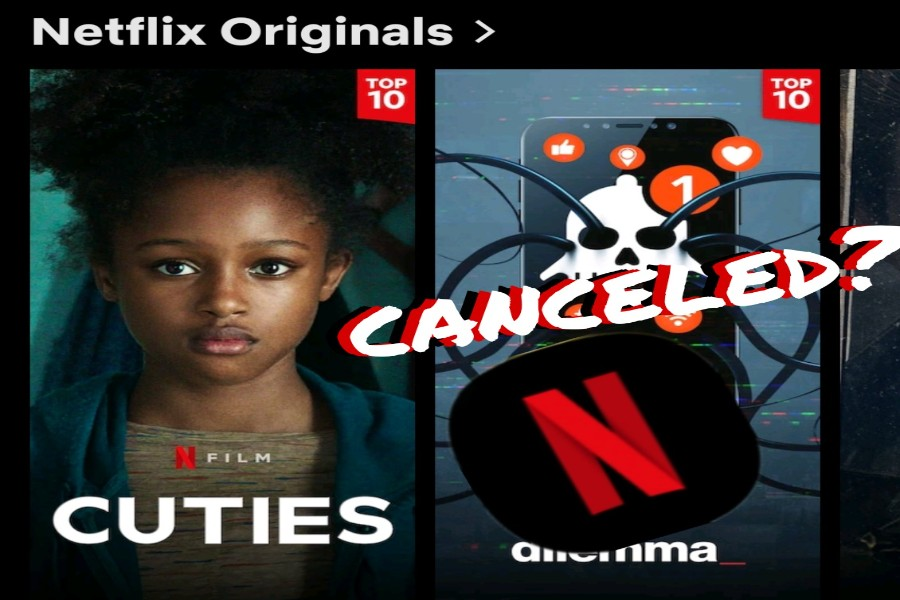 """CUTIES, a recently released movie on Netflix, has caused quite a stir on social media. Parents and influencers across the country have sparked a huge debate, is this """"okay""""? In today's society, are we tolerant of this (Photo courtesy of Madison Crumpton)?"""