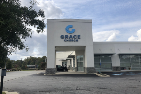 Grace Church on Harrison Bridge Road.