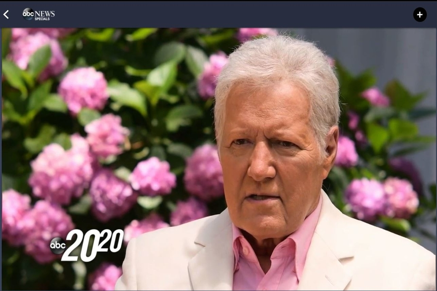 ABC News premiered a primetime special on the life and legacy of Alex Trebek after an episode of Jeopardy on November 16th, 2020 (Photo Courtesy of Sarah Neal).
