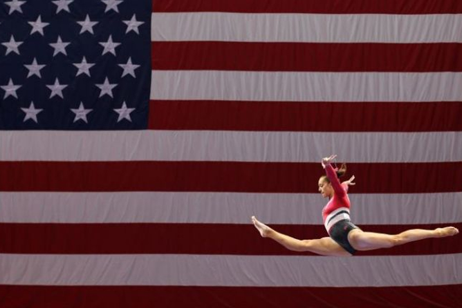 Athlete A is a jaw-dropping film that reveals the horrors behind the USA gymnastics competitive team, and their hidden abuse. (Photo Credits to Flickering Myth Photos)